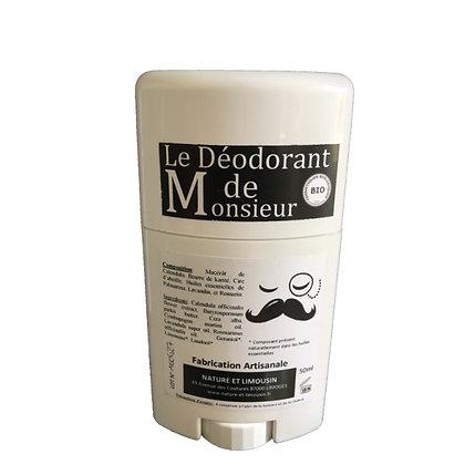 Le Déodorant de Monsieur