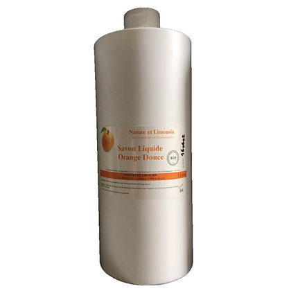 Savon liquide Orange douce 1l