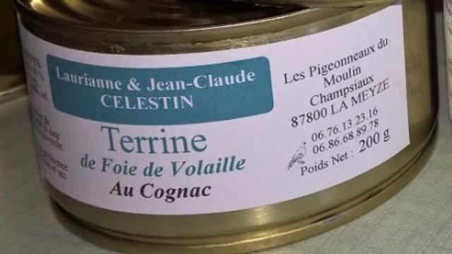 Terrine de foies de volaille au Cognac - 200 g