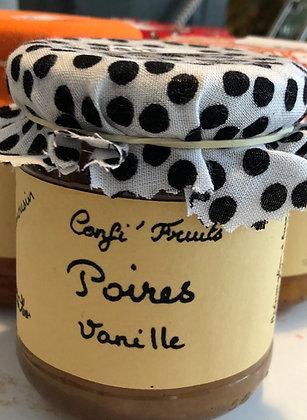 Confiture poires-vanille 200g