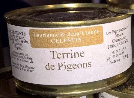 Terrine de Pigeons - 200G