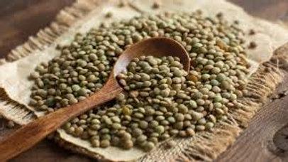 Lentilles vertes AB  origine Charente /500g