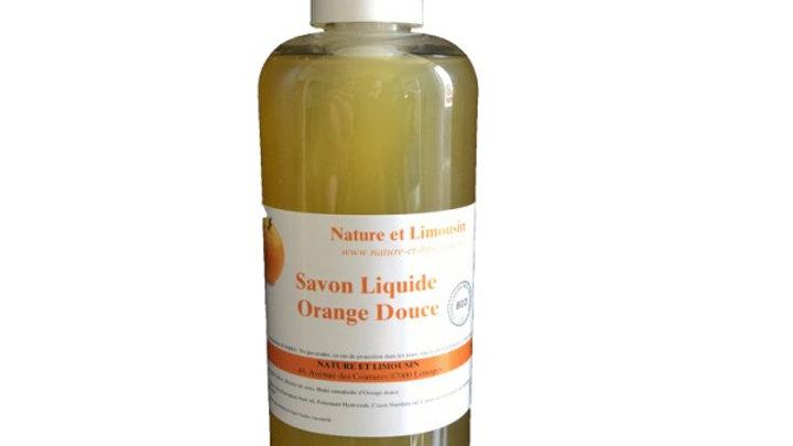 Savon liquide Orange douce