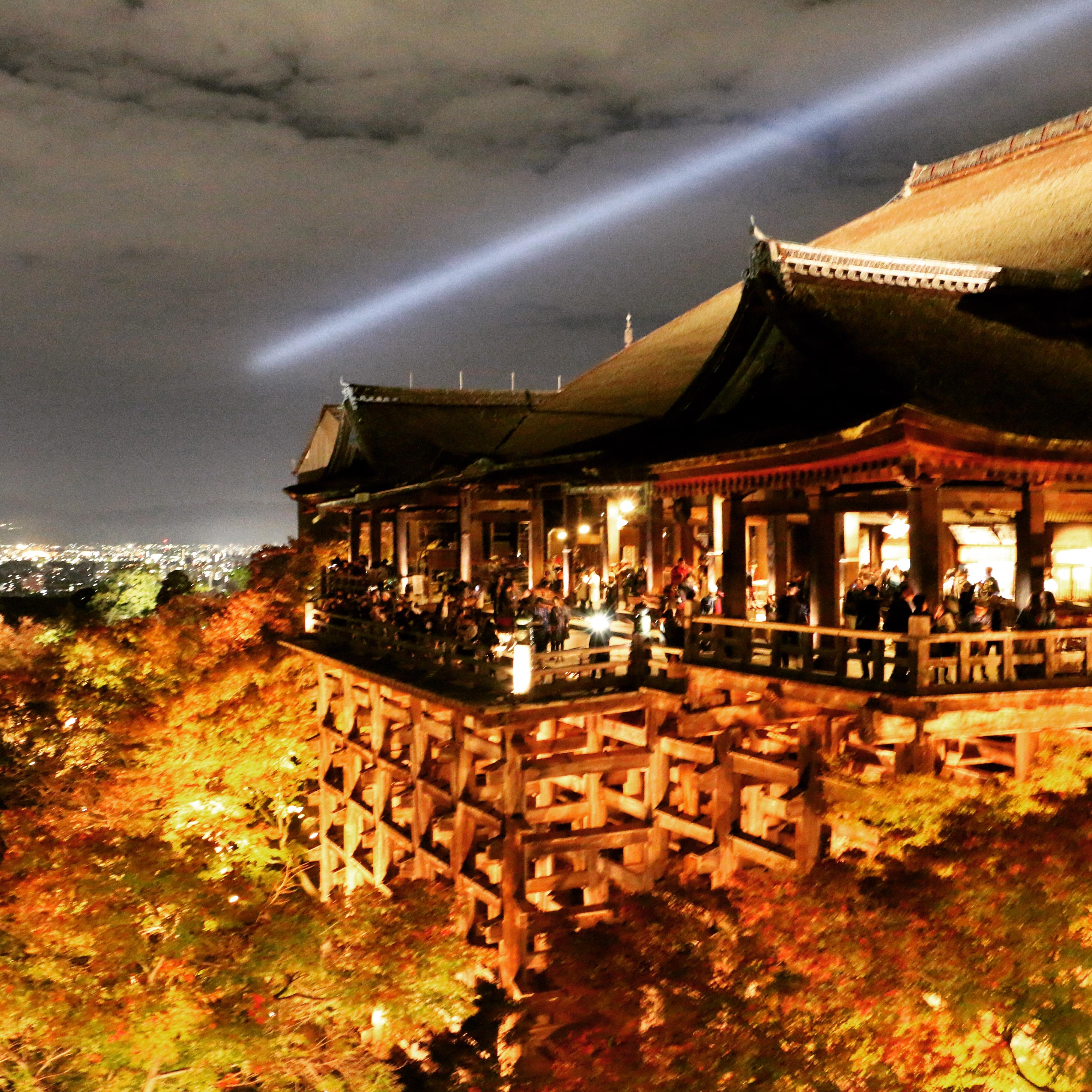 STAGE OF KIYOMIZU