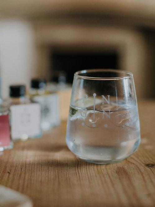 Pin Gin Glass