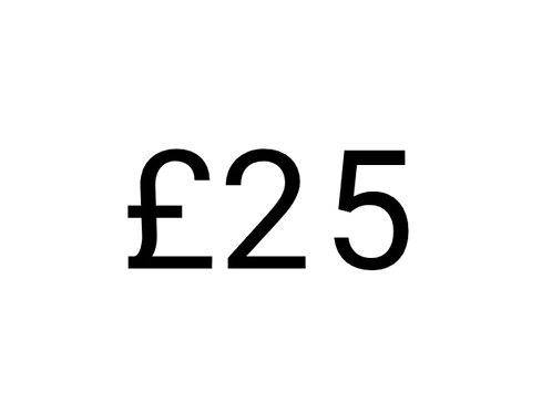 £25 Gift Voucher