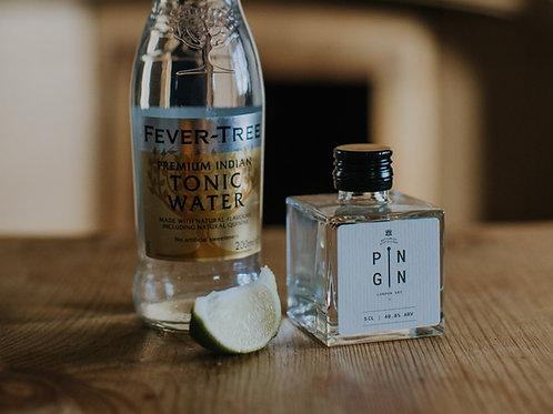 London Dry Pin Gin 5cl