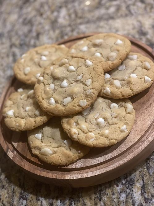 1 dozen White Chocolate Macadamia Nut Cookies