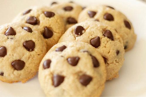 1 Dozen Keto Chocolate Chip Cookies