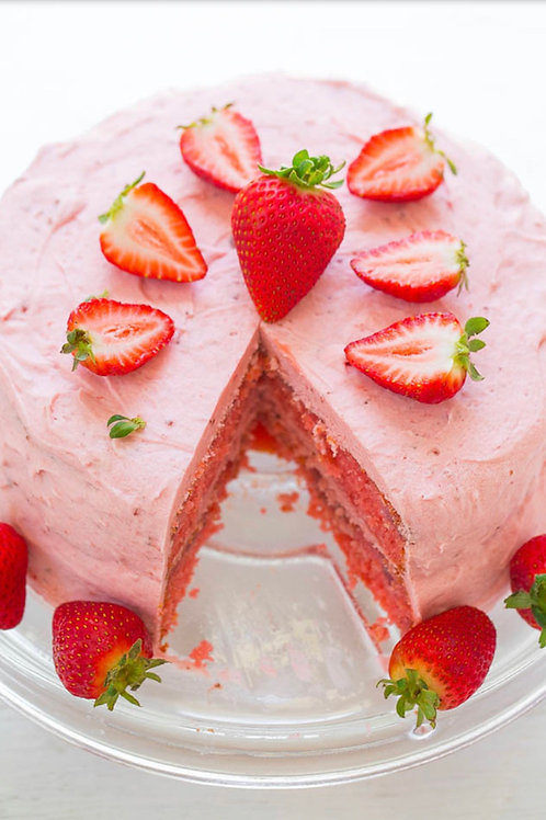 That Strawberry Thang Cake