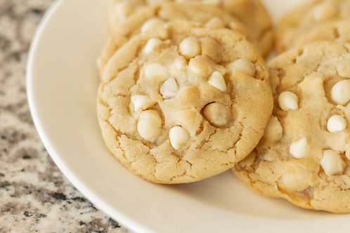 1 dozen White Chocolate Macadamia Nut Cookies