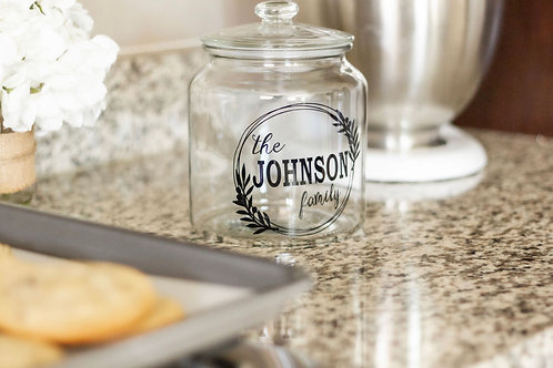 Customized Family Cookie Jar