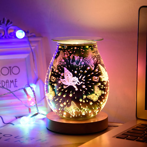 3D Butterflies Electric Wax Burners