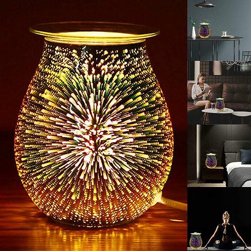 Electric Wax Burner 3D Night Light