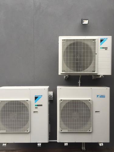Split system compressors