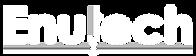 Enutech logo blanc
