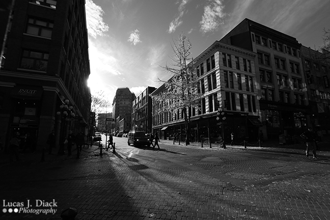 Long Shadows, Gastown