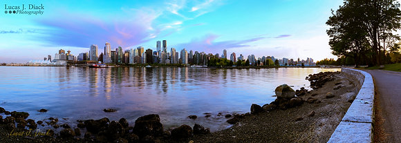 Pink Sky Delight, Vancouver, BC