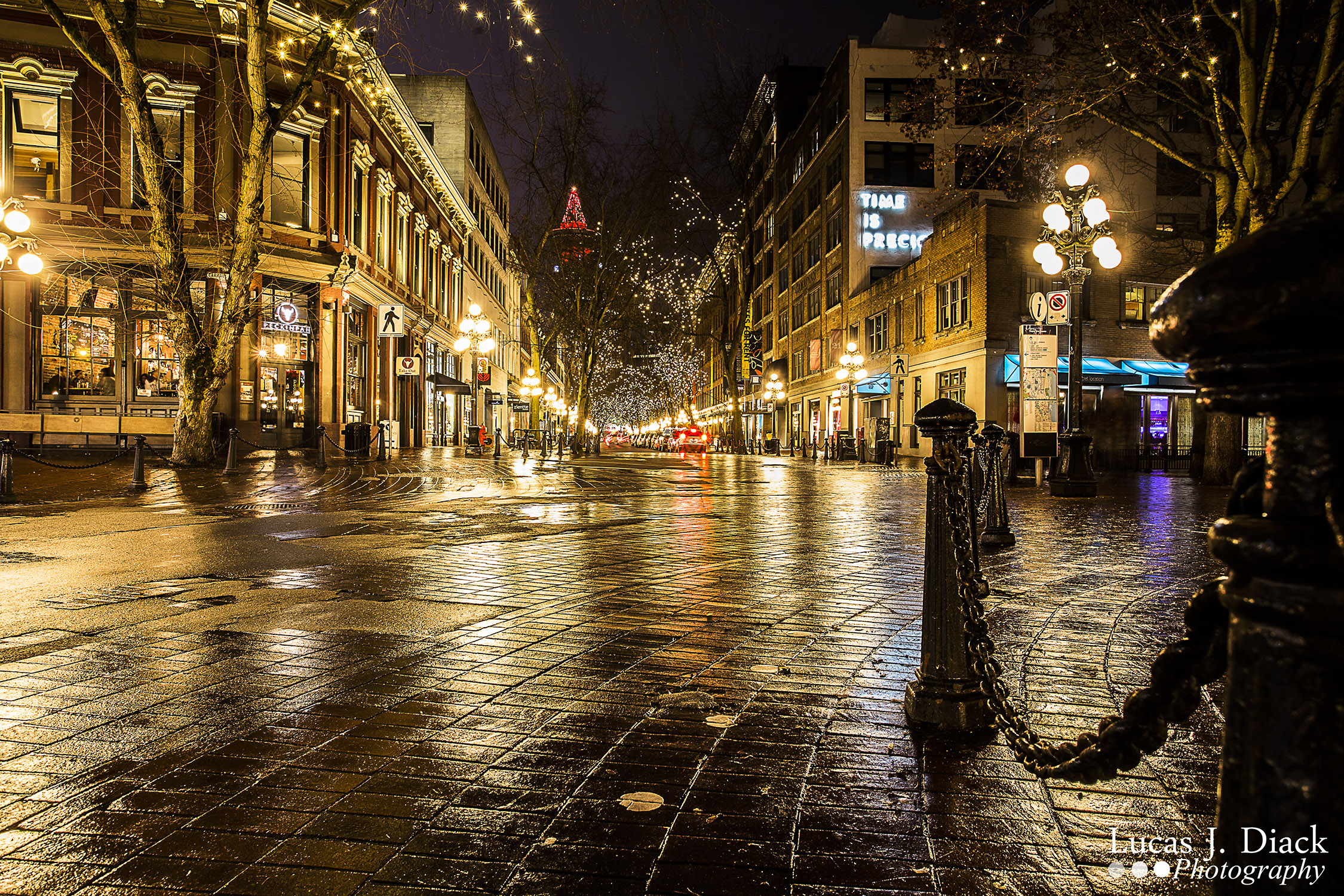 Gastown Glow (Vancouver Photography)
