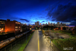 Blue Hour in Vancouver