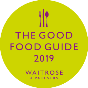 Little Gloster featured in Good Food Guide 2019