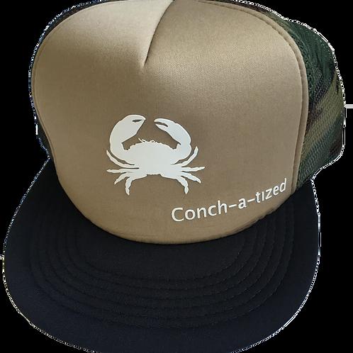 Stone crab, Trucker hat
