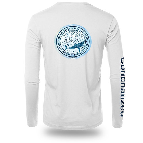 Men's long sleeve, Save our ocean