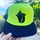 Thumbnail: Conch shell neon green - Trucker hat