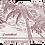Thumbnail: Women's long sleeve - Vneck - Palm trees in paradise
