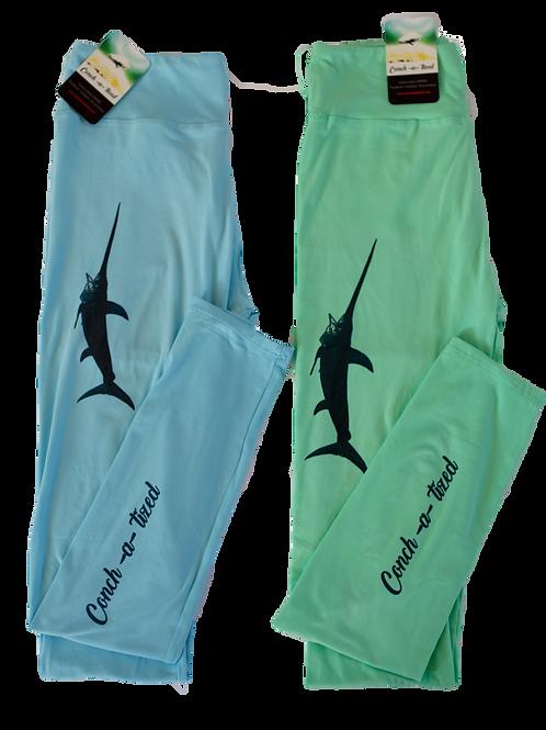 Sword fish leggings