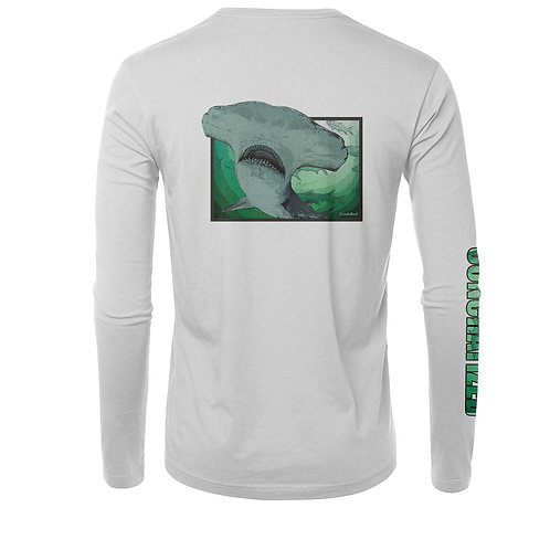 Men's long sleeve, Hammer head, tarpon