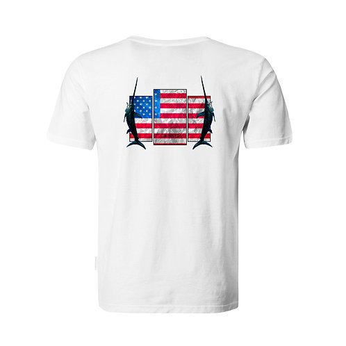 Patriotic, fishing shirt, fishing performance, 4th of July
