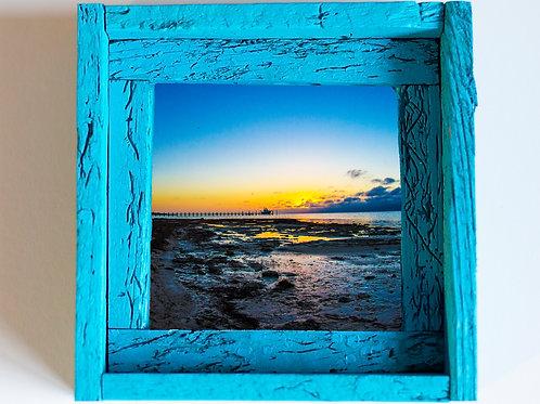 Island sunset, Florida keys , size 6x6