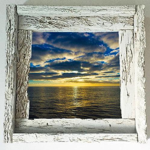 Ocean sunset, Florida keys , size 6x6