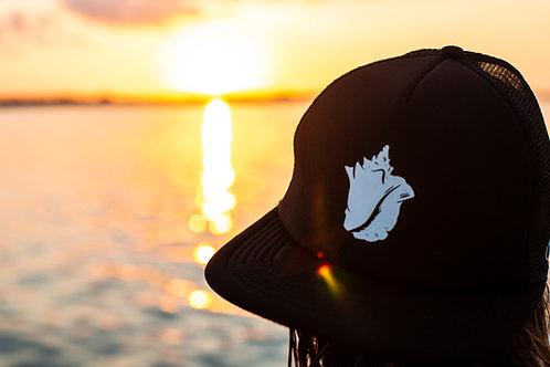 Conch shell Black - Trucker hat