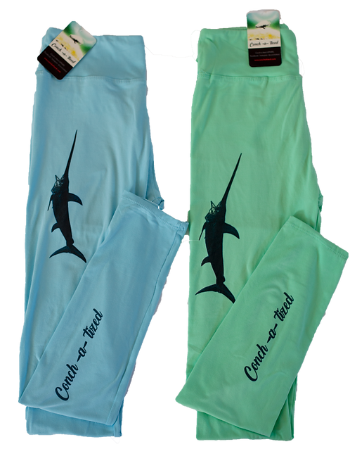 Frigate bird leggings