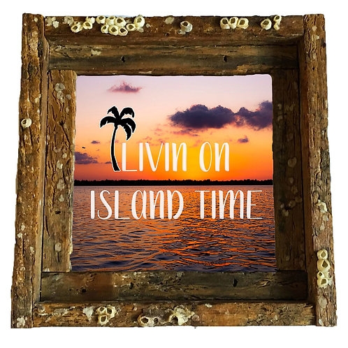 Island time, Florida keys , size 6x6