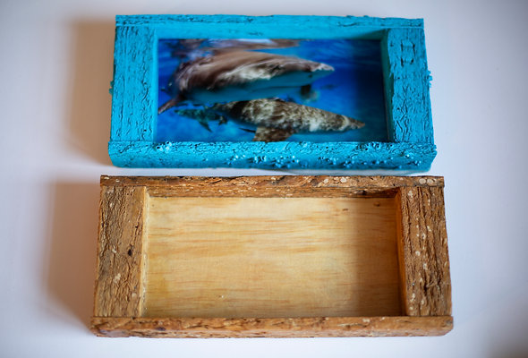 Recycled Lobster trap wood- Tray