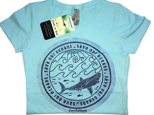 Girls - Save our oceans T shirt