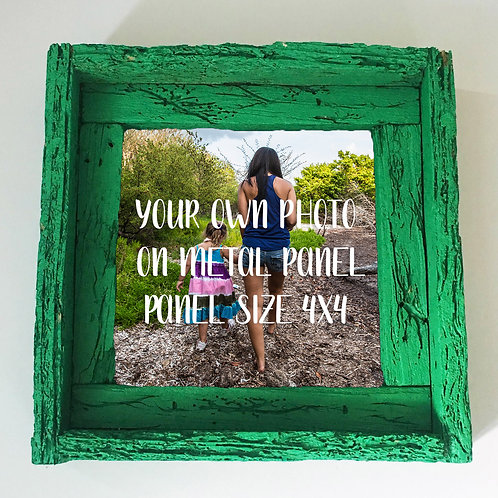 Your own photo, small frame, Florida keys , Small frame size 6x6