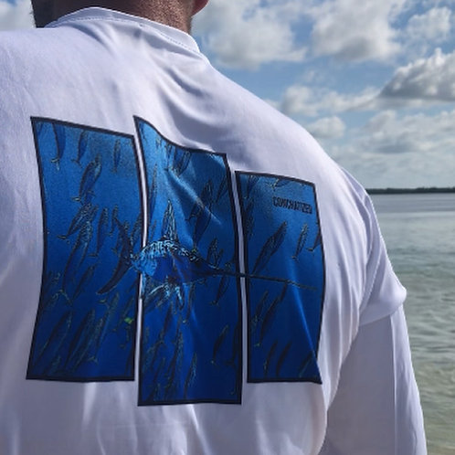 Sword fish, short sleeve, 100% polyester