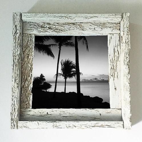 Black and white, small frame, Florida keys , Small frame size 6x6
