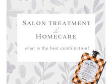 Salon treatment & Home care