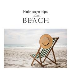 Hair care tips for Beach