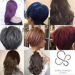 Let's try Hair Color.__shunsakurai_salon