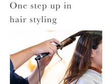 One step up in hair styling