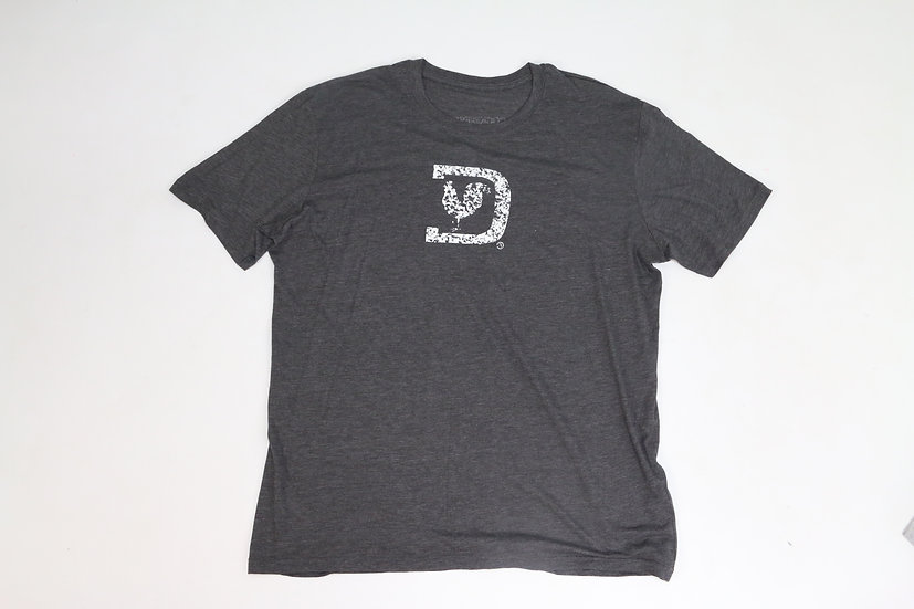 Distressed Logo D-Gray