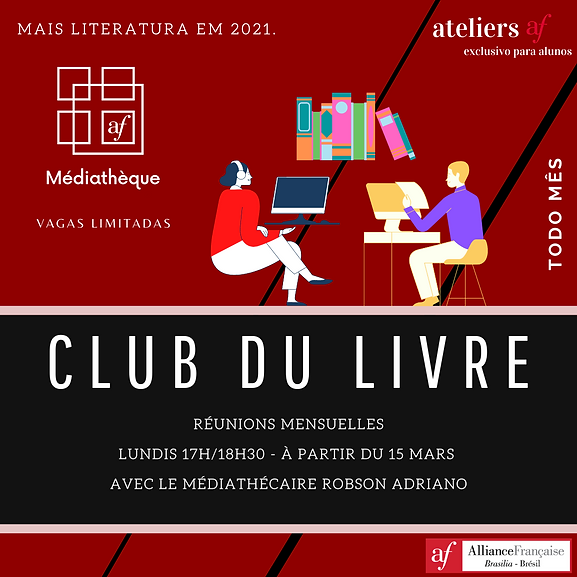 club du livre alianca francesa brasilia
