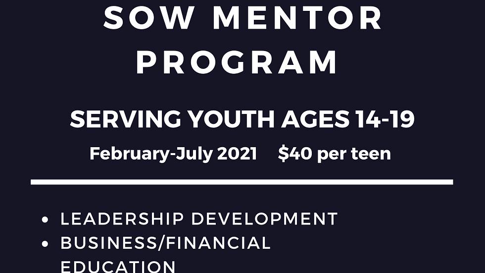 SOW Mentor Program Enrollment