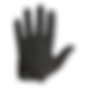 Attack Full Finger Glove Black.png